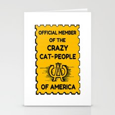 Crazy Cat People of America Stationery Cards