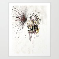 HEAD SHOT Art Print
