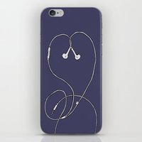 I Don't Know, I Just Love Me Some Music iPhone & iPod Skin
