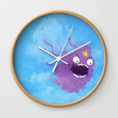 You can't have these lumps! Wall Clock