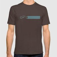 Tron Light Cycle Mens Fitted Tee Brown SMALL