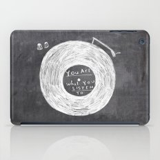 you are what you listen to iPad Case
