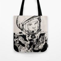 From Gagarin's Point Of … Tote Bag