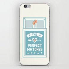 The Perfect Matches iPhone & iPod Skin
