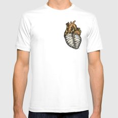Heart gone wild - color  White Mens Fitted Tee SMALL