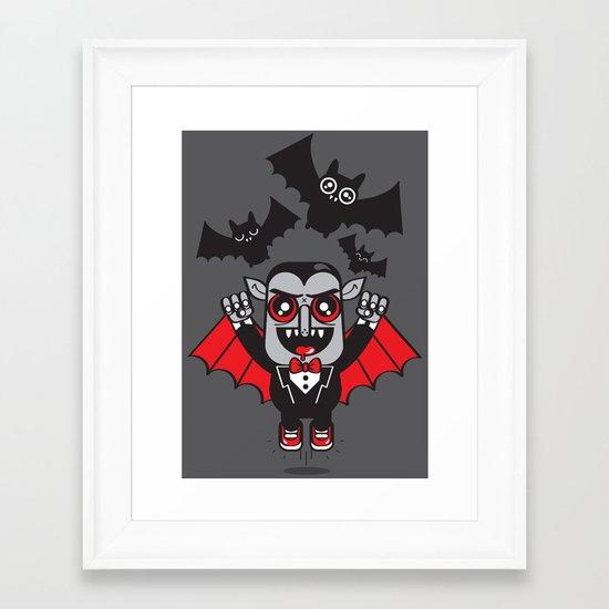 Evil Powers of Pumped up Kicks Framed Art Print