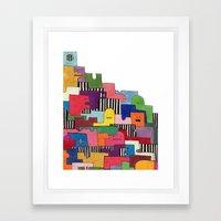 Friendlies Framed Art Print