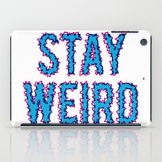 Stay Weird iPad Case