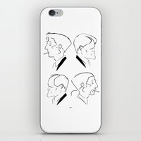 Hart & Cohle 95-12 iPhone & iPod Skin