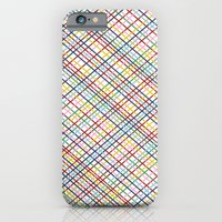 iPhone & iPod Case featuring Rainbow Weave 45 by Project M