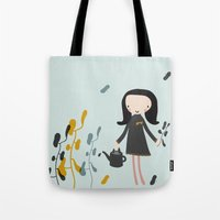 Nature Must Be Nurtured Tote Bag