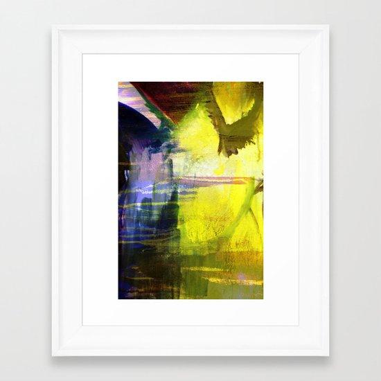 Melted In Framed Art Print