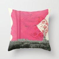 c´est la vie en paris Throw Pillow