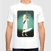 Betty's BB Gun Mens Fitted Tee White SMALL