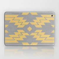Concrete & Aztec Laptop & iPad Skin
