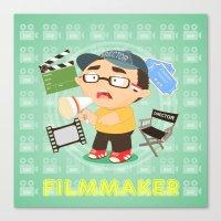 Filmmarker Canvas Print