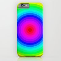 Rainbow Circle iPhone 6 Slim Case