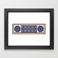 Wild Blueberries Framed Art Print