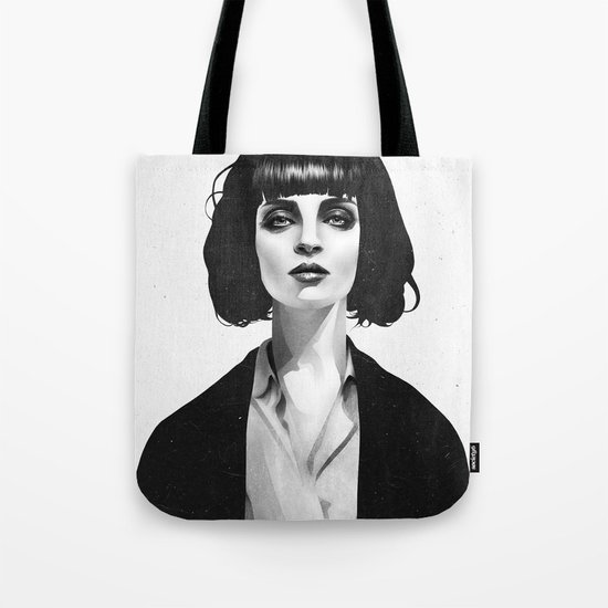 Mrs Mia Wallace Tote Bag