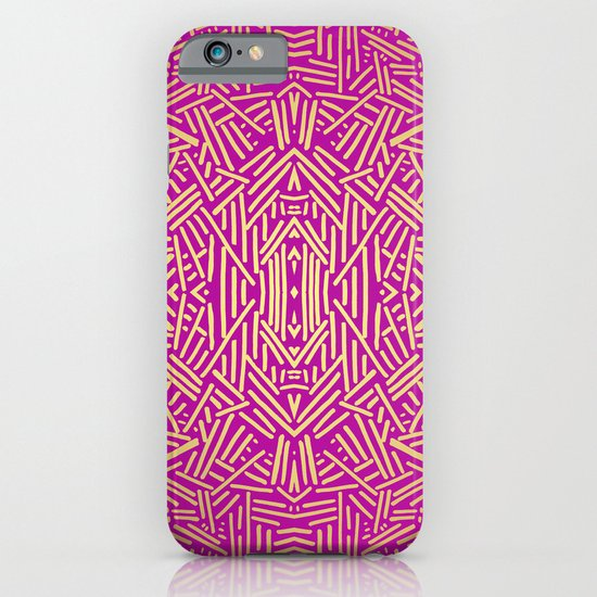 Radiate (Yellow/Ochre Raspberry) iPhone & iPod Case