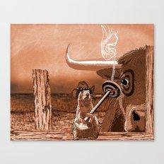Bulls Eye Canvas Print