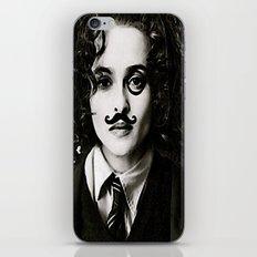 Helena Bonham... Chaplin? iPhone & iPod Skin
