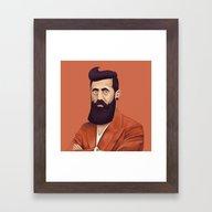 The Israeli Hipster Lead… Framed Art Print