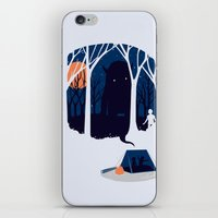 Scary story iPhone & iPod Skin
