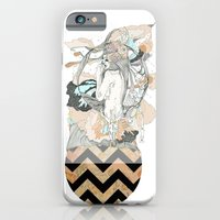 iPhone & iPod Case featuring floral ego by Cassidy Rae Limbach