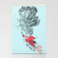 In Red Stationery Cards