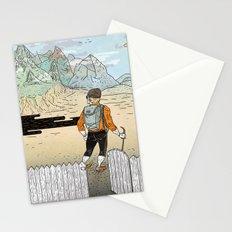 Backyard Adventure Stationery Cards