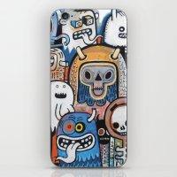 Instant drôlatique  iPhone & iPod Skin