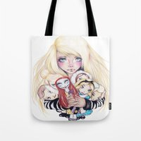 Doll Baby Tote Bag