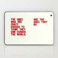 The Crazy Ones Laptop & iPad Skin