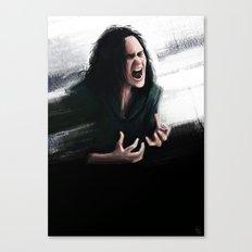 Trust my rage Canvas Print