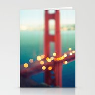 Stationery Cards featuring Meet Me In San Francisco by Laura Ruth