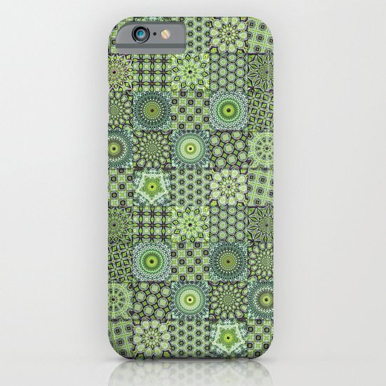 Green Valley Quilt iPhone & iPod Case