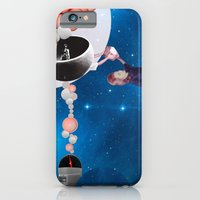 iPhone & iPod Case featuring Space Flight by Natalie Nicklin