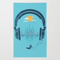 Summer Waves Rug
