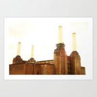 Battersea Art Print