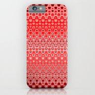 Mosaic Red iPhone 6 Slim Case