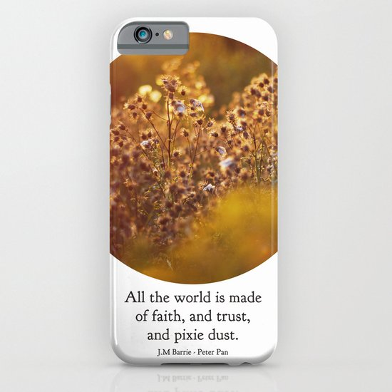 pixie dust - peter pan iPhone & iPod Case
