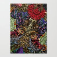 Psychedelic Botanical 11 Canvas Print