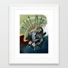 Dragon Age - Qunari - Betrayal Framed Art Print