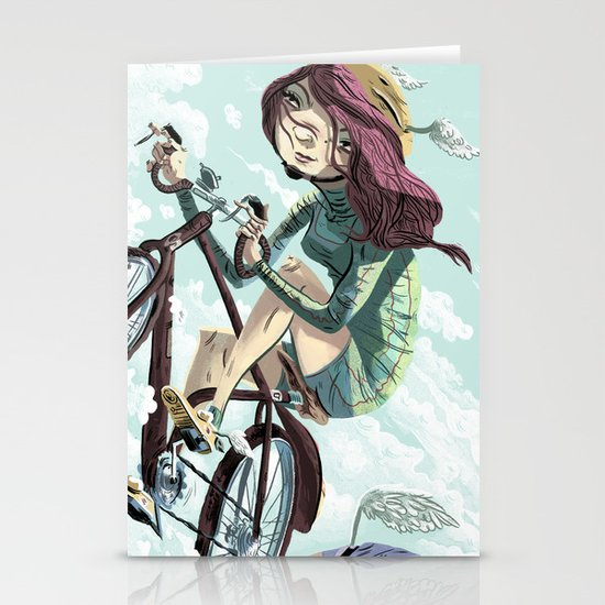 Bikes Not Bombs Stationery Card