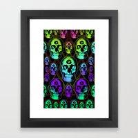 Skulluminati Framed Art Print
