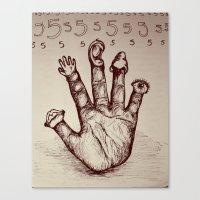 The Five Senses Canvas Print