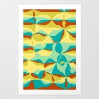 Imperfect Tiles Art Print