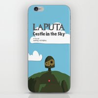 Laputa Castle In The Sky iPhone & iPod Skin