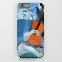 Picasso's Blue Man  iPhone 6 Slim Case